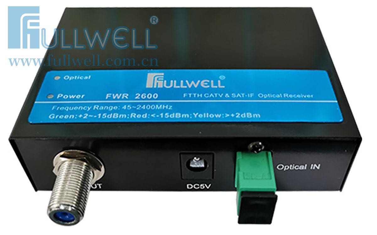 卫星电视+CATV光接收机(45~2600MHz)