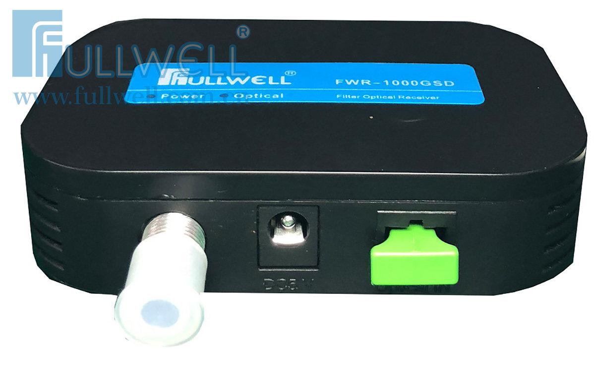 滤波型光接收机(塑料黑壳,迷你型)