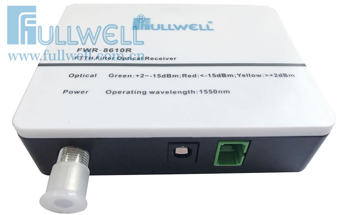 滤波型光接收机(白盖+黑底塑壳)